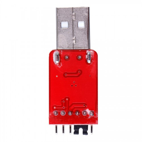 CP2102 USB to TTL/ High Speed STC Download/ Hard Disk Flash Line ( Red Color ) 5pcs/lot