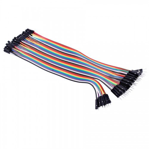 20cm Male to Female DuPont Breadboard Jumper Wires for Arduino (40pcs Pack) 10pcs/lot