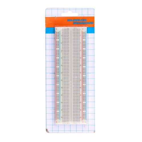 Large Size Solderless Breadboard ( White Color ) 5pcs/lot