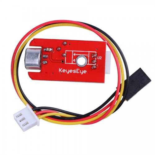 Sound Sensor Module Sound Intensity Detector for SCM Development Red 5pcs/lot