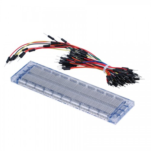 Arduino Compatible Breadboard with Jump Wires Kit for Electronic DIY 5pcs/lot