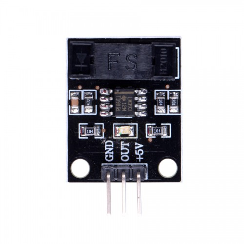 Infrared Radiation Velometer Photoelectric Sensor Module for Arduino ( Black Color ) 5pcs/lot