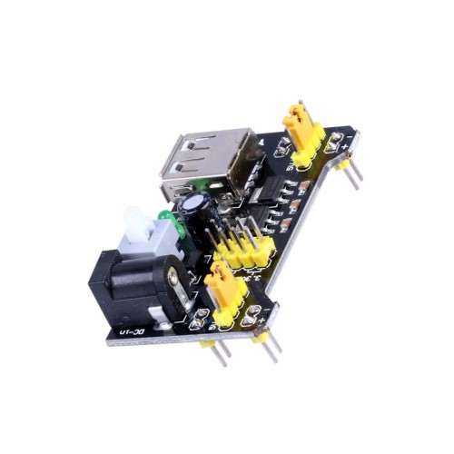 MB102 Bread Board 3.3V/ 5V Power Supply Module ( Black Color ) 10pcs/lot