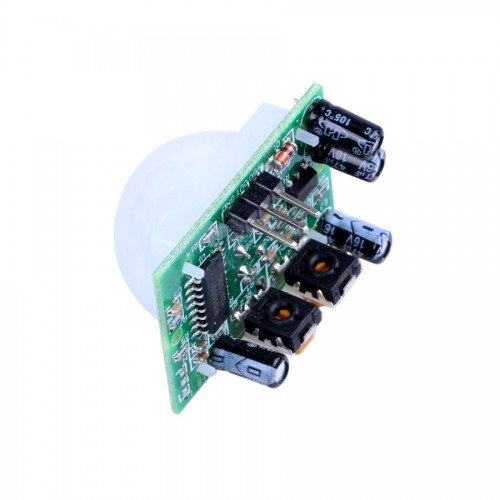 Infrared IR Motion Detector Sensor Module ( White + Green Color ) 5pcs/lot