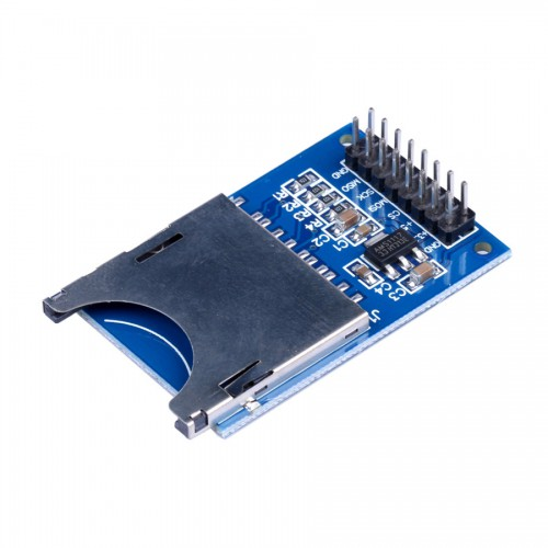 Brand New SD Card Module Slot Socket Reader for Arduino ARM MCU ( Blue and Silvery Color ) 10pcs/lot