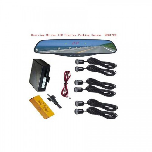 Rearview Mirror LED Display Parking Sensor