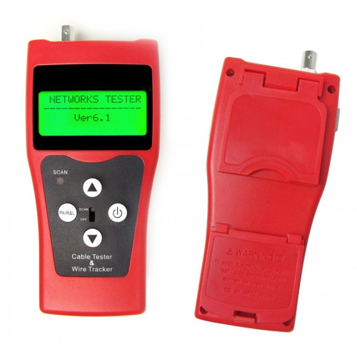 NF-308 LCD Display Telephone Network Ethernet LAN Phone Tester Multipurpose Cable Wire Tracker Length Scanner RJ45 11 Free shipping from USA warehouse