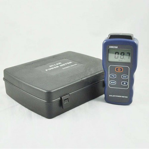 SM206 Solar Power Meter Digital Radiation Tester