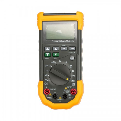 Digital MS7282 Process Multimeter Calibrator DMM with 100mV 10V 4-20mA Source