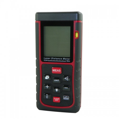 RZE50 50m/164ft Mini Digital Laser Distance Meter Range Finder Measure Diastimeter