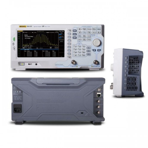 DSA815 RIGOL Spectrum Analyzer + Tracking Generator 9 kHz 2 1.5 GHz -135dBm EMI