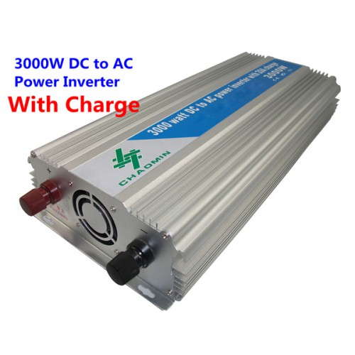 3000W DC 12V to AC 220V UPS Modified Sine Wave Power Inverter with 20A charge