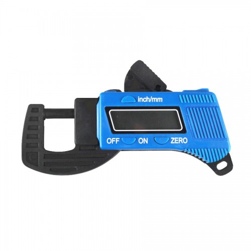 Portable Quick Precise Digital Thickness Gauge Meter Tester Micrometer 0 to 12.7mm 0-0.58inch For Pearls, Gems& Diamonds