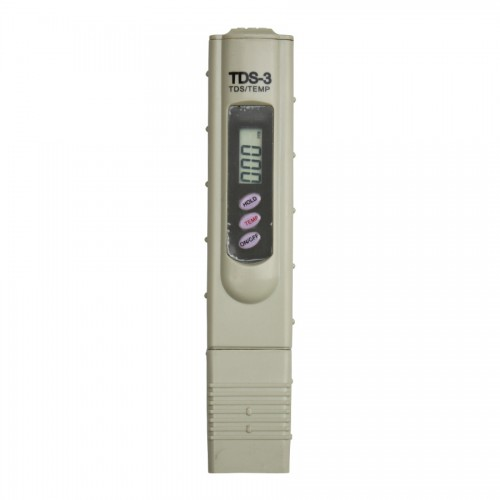 Digital LCD TDS3/TEMP/PPM TDS Filter Pen Water Purity Quality Tester Meter 5pcs/lot