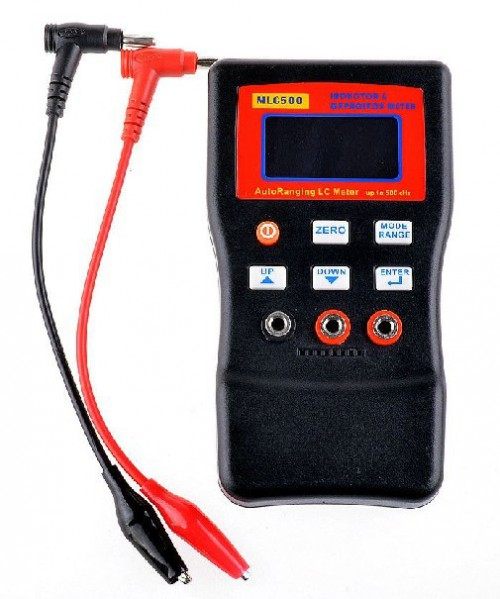 MLC500 Auto Ranging LC Meter 500 KHZ Test Inductor and Capacitor 1% accuracy