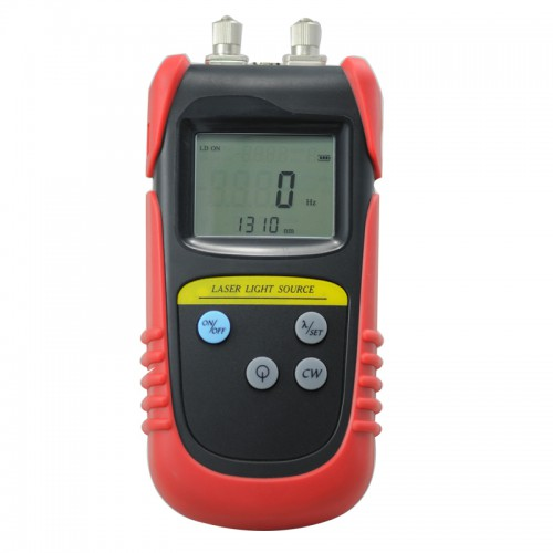 Brand New TLD7002D Hand Held Optical Laser Light Source Dual Wavelength 850/1300/1310/1550nm with FC/ST/SC Converters