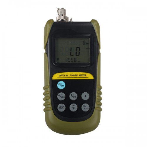 Handheld Fiber Optical Power Meter TLD6070 Cable Tester Optical Tester