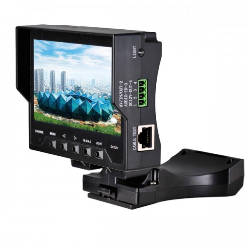 "4.3"" inch TFT LCD Audio Video Security CCTV Camera Tester 12V Output Test Monitor"
