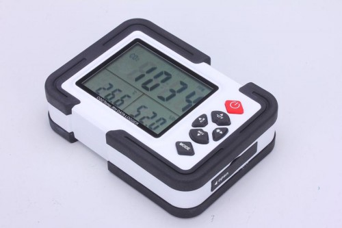 9999ppm Carbon Dioxide CO2 DataLogger Monitor Air Temperature Humidity Meter USB