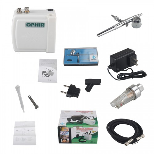 NEW AIRBRUSH KIT COMPRESSOR NAIL ART TATTOO DUAL ACTION SPRA