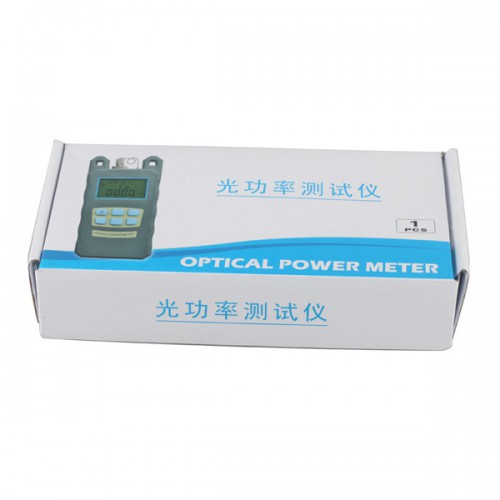 Fiber Optical Power Meter+10MW Visual Fault Locator Fiber Optic Cable Tester with SC FC Adapter