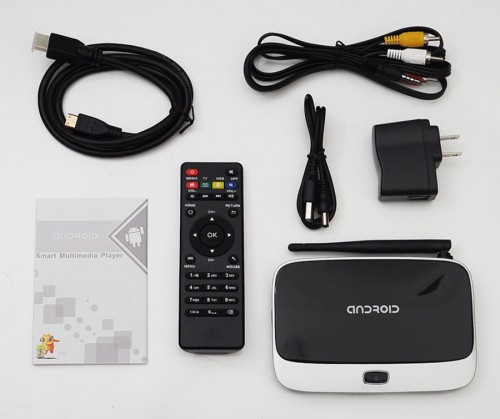 WIFI Android 4.4 Smart TV Box XBMC CS918/Q7 Quad Core 2GB/8GB RK3188T Media player