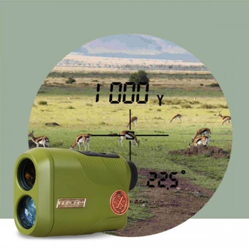 Kolsol KY1000 Dual-use 6.5x Magnification Range Finder For Golf & Hunting
