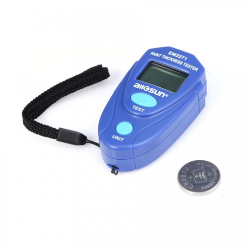 Mini Digital Car Auto LCD Paint Thickness Tester Gauge Painting Thickness Tester