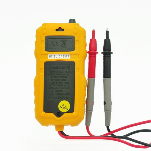PEAKMETER MS8231 Pocket Size 2000 Counts Mini Auto Digital Multimeter with Non Contact Voltage Detector