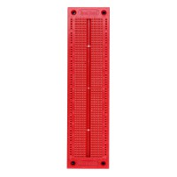 SYB-120 Prototype Solderless Printed Circuit Breadboard ( Red Color ) 10pcs/lot