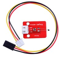 Analog Temperature Sensor Module for SCM Development Red 5pcs/lot