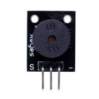 Compatible Arduino Passive Speaker Buzzer Module ( Black Color ) 10pcs/lot