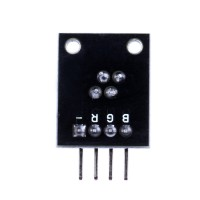 RGB 3-Color LED Module for Arduino ( Black Color ) 10pcs/lot
