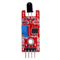 Flame Detection Sensor Module for Arduino DIY project ( Red and Blue Color ) 5pcs/lot