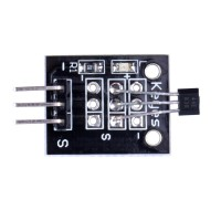 Arduino Hall Effect Magnetic Sensor Module (DC 5V) Black Color 10pcs/lot