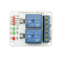 5pcs/lot 2 Channel 12V Relay Module Extension Board for Arduino