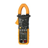Mini Pocket MS2008A Digital AC Clamp Meter Current Voltage Resistance Tester with Auto and Manual Range