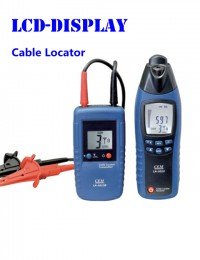 CEM LA-1012 General Mini Cable Locator Tester Meter with Transmitter, Wire finder in walls