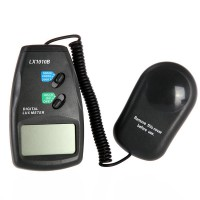 High Accuracy 50,000 Lux Digital LCD Light Meter Photometer LX1010B Luxmeter