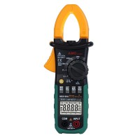 AIMO MS2108A Digital Clamp Meter AC/DC Current Voltage Resistance Tester