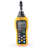 HYELEC MS6208A Digital Contact Tachometer Wind Speed Meter Air Flow Anemometer