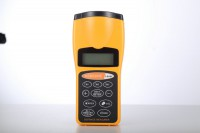 New Handheld LCD Ultrasonic Laser Meter Pointer + Distance Measurer Range 60FT