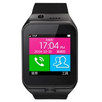 GV09 Bluetooth Wrist Watch Phone Touch Screen Camera Smart Mobile Phone SIM Card