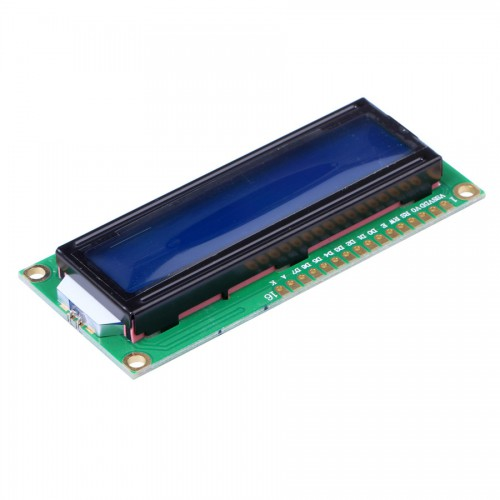 Standard 16 x 2 Character Blue Backlight LCD Display Module 5pcs/lot