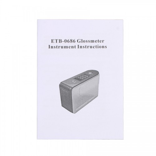 ETB-0686 Glossmeter Gloss Meter Tester 60º 200GU for Paint Granite Woodware Surface Test