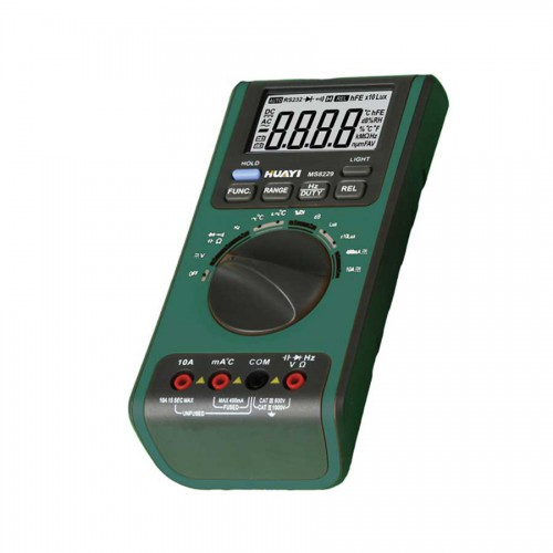 MS8229 5 IN 1 AUTORANGE DIGITAL MULTIMETER WITH ALARM