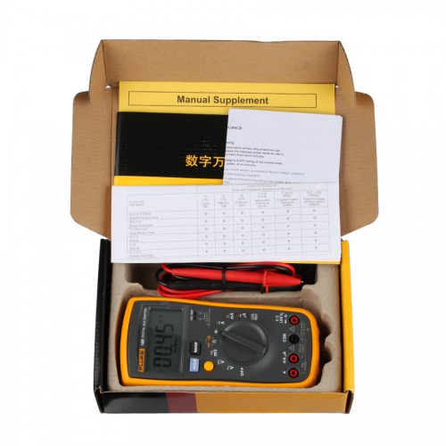 FLUKE 18B F18B+ Fluke 15B +LED Test Digital Multimeter