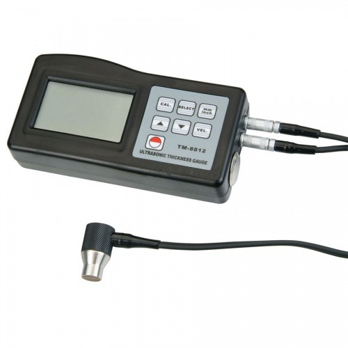 TM-8812 Ultrasonic Wall Thickness Gauge Meter Tester Steel PVC Digital Testing