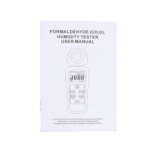 SM207 Portable Formaldehyde Gas Detector Meter Indoor Air Quality Tester Free Shipping from US WH