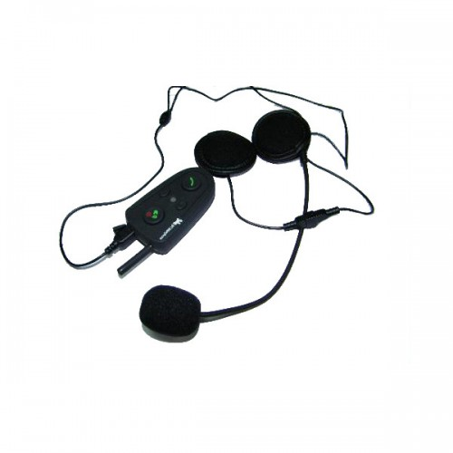Motorcycle Helmet Headsets Intercom Bluetooth Handsfree Kit 100M